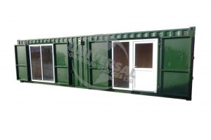 Shipping Container Conversions for Allotment