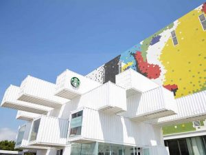 Starbucks Shipping Containers